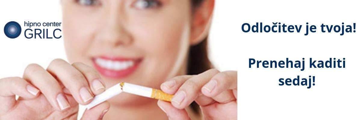 Odvajanje od kajenja    Sabina Repnk   Hopnocenter Grilc